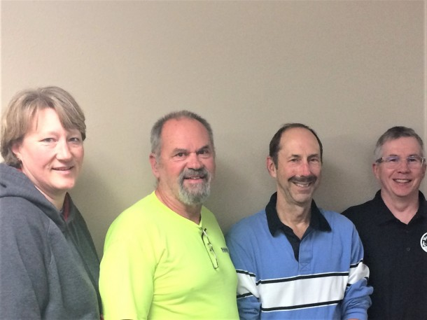 2018 Board Members: Shannon Humphrey, Carl Nelson, Steve Boughton, Mike Mulligan, Gabriel Trainer- Absent: Dirk Pauwels